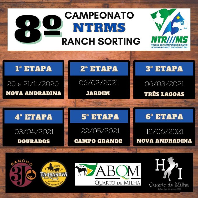 8º  CAMPEONATO NTRMS RANCH SORTING 6º ETAPA